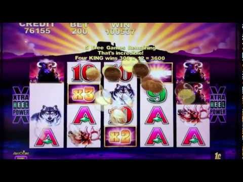 Buffalo Slot Machine Big Win at Mirage Casino Las Vegas