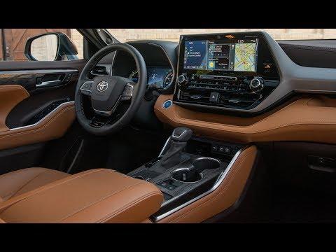 2020 Toyota Highlander Platinum – Interior Details