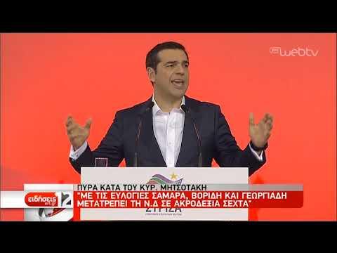 Μετωπική πολιτική σύγκρουση με «άρωμα» εκλογών | 15/12/2018 | ΕΡΤ
