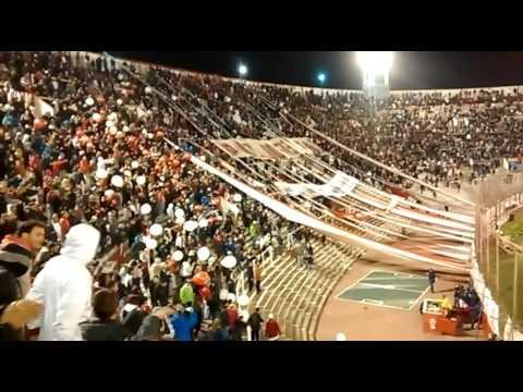 Huracan 0 vs Atl. Nacional 0. 8vos Libertadores 16 - La Banda de la Quema - Huracán