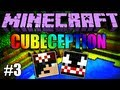 Minecraft: Cubeception #3 - Diamaaaaanteeees! =D