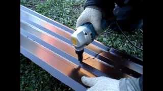 Металлочерепица Высечные ножницы