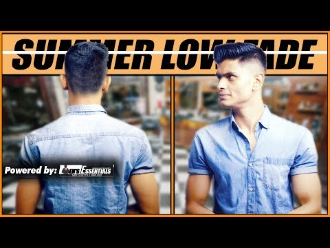 Mens hairstyles - BEST SUMMER HAIRSTYLE for INDIAN Men and Boys 2018  MEN'S LOW FADE HAIRSTYLE  Mayank Bhattacharya