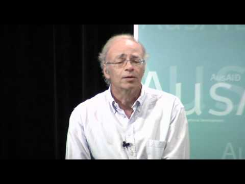 Peter Singer what Australians owe the global poor