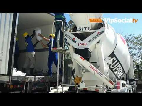 Assaltantes furtam dois caminhões bomba de concreto em Tijucas