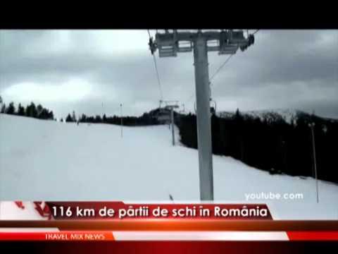 116 km de pârtii de schi în România – VIDEO