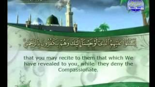 الجزء 13 الربع 5 : الشيخ علي بن عبد الرحمن الحذيفي