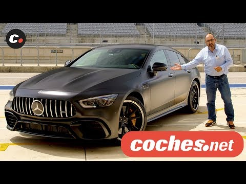 Mercedes-AMG GT 4 puertas  Primera prueba / Test / Review en español  coches.net