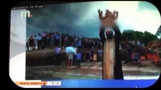 Βάπτιση στη θάλασσα (macedonia tv)