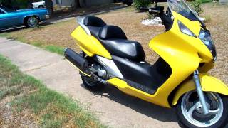 4. 2003 Honda Silverwing (for sale as of 8/26/2011)
