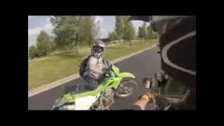 10. Suzuki drz 400 and kawasaki klx 250 dual sport ride 8.25.13