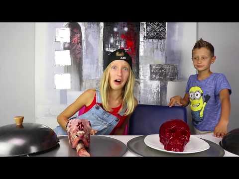 GUMMY vs REAL FOOD 6!!!! Extreme!!!! (видео)
