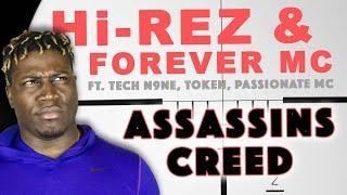 TOKEN, TECH N9NE, HI-REZ, PASSIONATE MC - Assassins Creed (2LM Reaction)