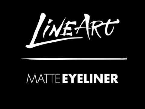 LA Girl Matte Line Art Eyeliner Intense Black