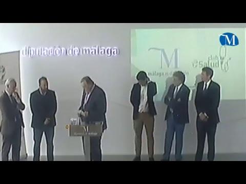 La Diputación de Málaga se adhiere al programa Club Salud de la Federación Andaluza de Fútbol y presenta el I Campus Oficial de la RFAF en Estepona