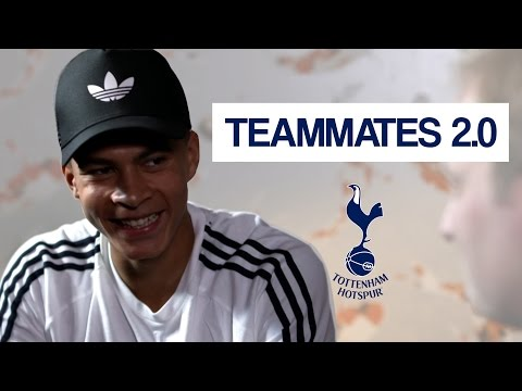 Which Spurs player gets their hair cut twice a week?! | Dele Alli Teammates 2.0