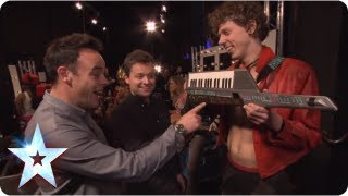 Ant and Dec's musical comeback continues | BGT Unseen with Morrisons | Britain's Got Talent 2013