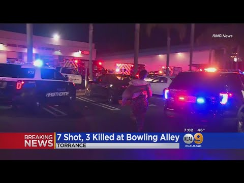 3 Killed, 4 Injured In Shooting At Torrance Bowling Alley