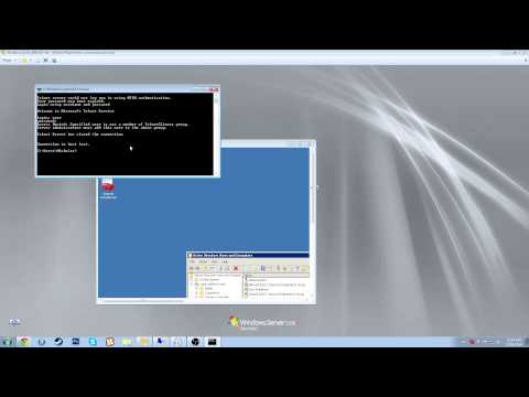 how to enable telnet on a windows 2008 server