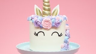 Download Youtube: HOW TO MAKE A UNICORN CAKE - NERDY NUMMIES