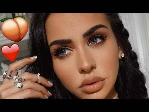 Download PEACHY VALENTINE'S DAY MAKEUP | Carli Bybel HD Mp4 3GP Video and MP3