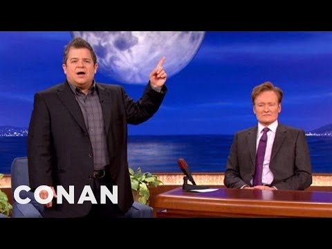 Conan - Patton Oswalt Gives Obama & Romney Protips