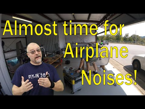 RV-10 Fuselage - 034 - Almost time for airplane noises!