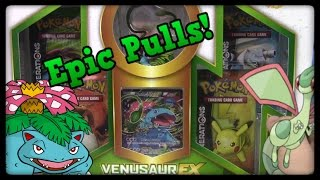 Pokemon Cards! Venusaur Ex Red&Blue Collection Box! by Master Jigglypuff and Friends