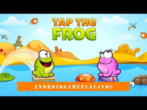 Tap the Frog Android Game Gameplay
