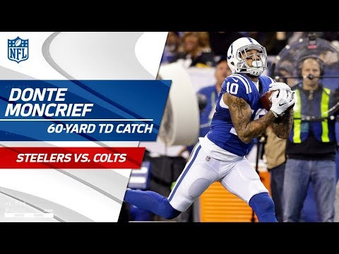 Jacoby Brissett & Donte Moncrief's 60-Yd TD Connection! | Can't-Miss Play | NFL Wk 10