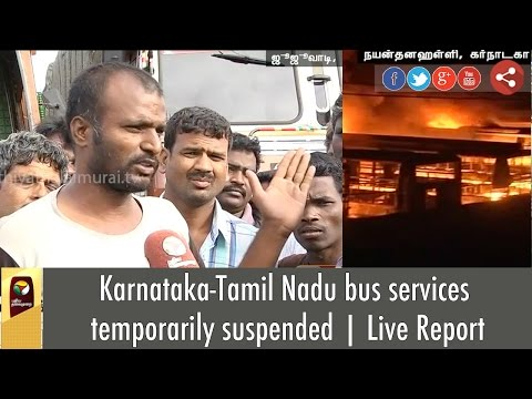 Cauvery-Issue-Karnataka-Tamil-Nadu-bus-services-temporarily-suspended-Live-Report