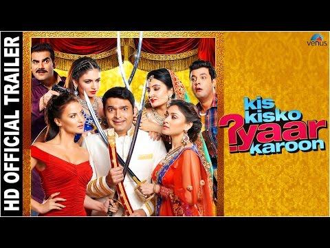 Trailer: Kis Kisko Pyaar Karoon, Kapil Sharma, Arbaaz Khan, Eli Avram & Manjari Phadnis