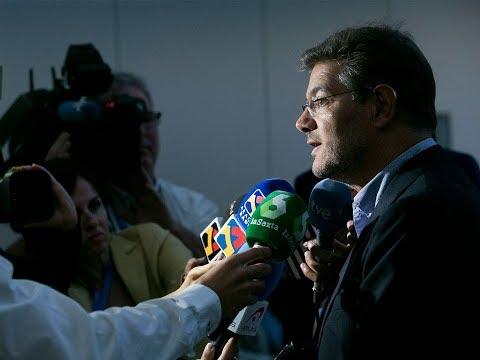 """Catalá: """"La justicia está haciendo un servicio extraordinario a la democracia y a la Constitución"""""""