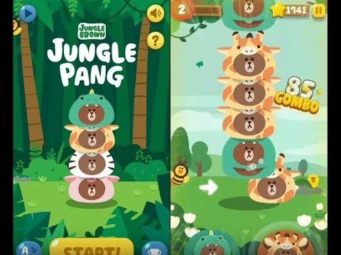 《JUNGLE PANG - LINE Friends》手機遊戲 Gameplay!