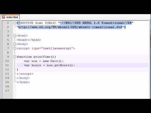 JavaScript - Date Objects