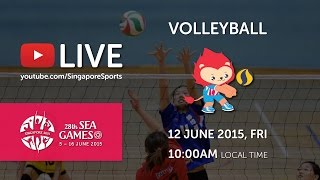 Video Volleyball Women's Indonesia vs Malaysia (Day 7) | 28th SEA Games Singapore 2015 MP3, 3GP, MP4, WEBM, AVI, FLV Februari 2018