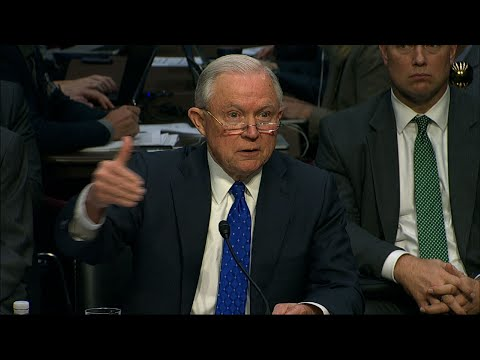 Senators, Sessions Spar About Russia
