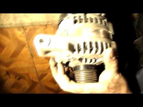 форд фокус 2 2л как снять генератор