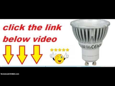 Megaman GU10 6 Watt LED PAR16 Dimming 2800 k Light Bulb