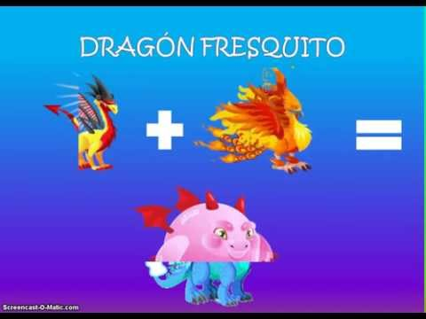 Como sacar el dragon pirata, fuego fresquito chicle y armadillo en dragon city