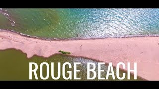 Pickering (ON) Canada  city photos : Rouge Beach Toronto Pickering Ontario Canada Drone - 4K