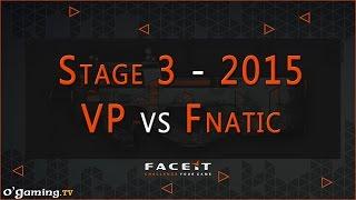 Virtus pro vs Fnatic - FACEIT League 2015 Stage 3 - Europe League - Week 2 - 30/09/15