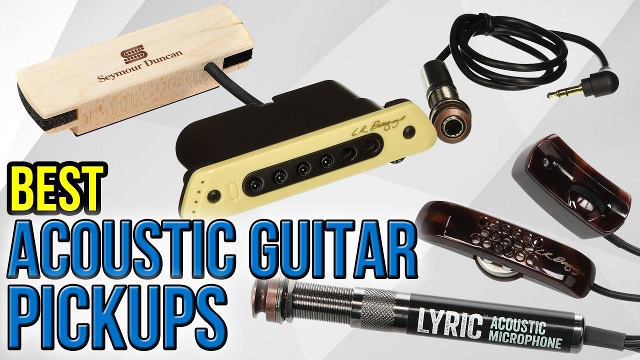 8 Best Acoustic Guitar Pickups 2017