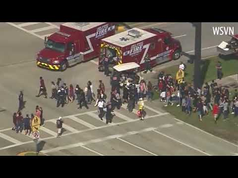 Police respond to school shooting at Florida high school
