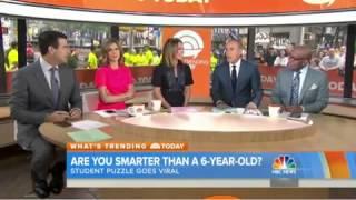 فيديو: لغز أطفال يضع طاقم برنامج تليفزيوني في مأزق