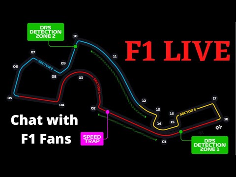 LIVE Eiffel GP Race Watchalong - F1 Live Timing - Chat with F1 Fans - Sector Times + Track Map