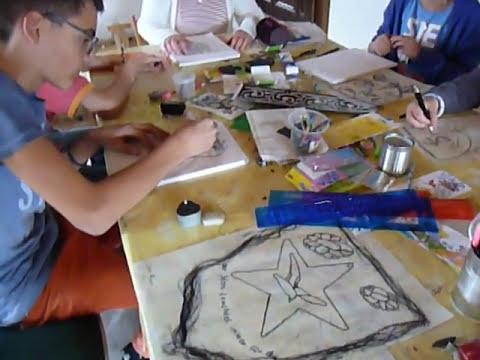 Wappen malen lernen
