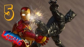 Video IRONMAN STOP MOTION Action Video Part 5 with Black Panther & Superior Spiderman MP3, 3GP, MP4, WEBM, AVI, FLV Desember 2018