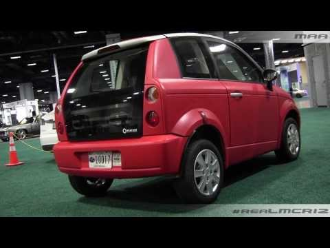 2011 Think City Electric Car Walkaround – DC Auto Show
