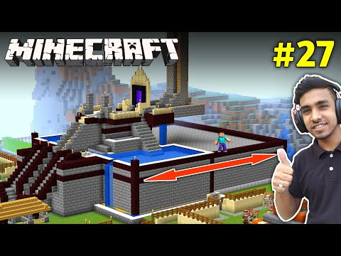 I EXPAND MY CASTLE LENGTH | MINECRAFT GAMEPLAY #27